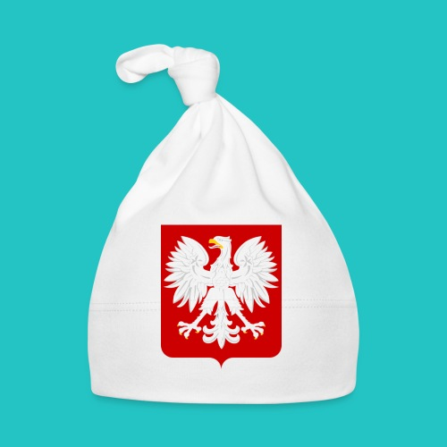 Koszulka z godłem Polski - Czapeczka niemowlęca
