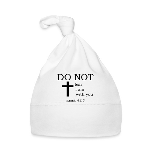 'DO NOT' t-shirt - Baby Cap