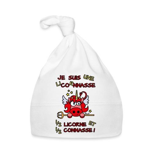 LicorNASSE Moitié Licorne Moitié Connasse - Bonnet Bébé
