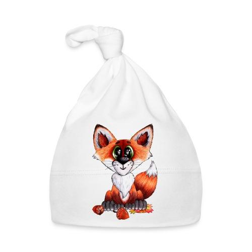 llwynogyn - a little red fox - Baby Mütze
