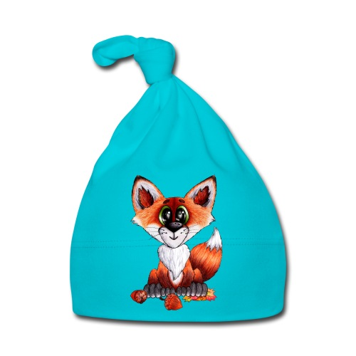 llwynogyn - a little red fox - Baby Cap