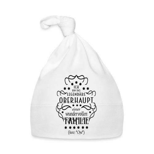 Familienoberhaupt Opa Spruch - Baby Mütze