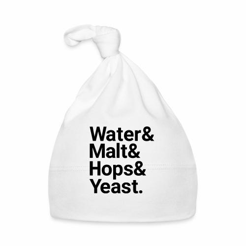 Water,Malt,Hops & Yeast - Baby Cap