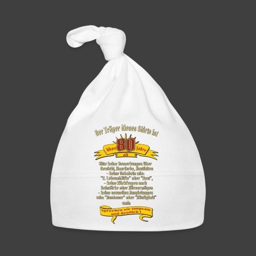 über 80 Jahre, original RAHMENLOS® Design - Baby Mütze