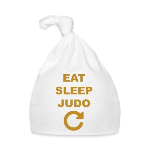 Eat sleep Judo repeat - Czapeczka niemowlęca