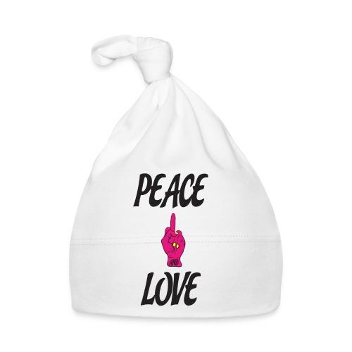 PEACE AND LOVE - Cappellino neonato