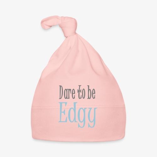 Edgy Glam Typography t-shirt design by patjila - Baby Cap