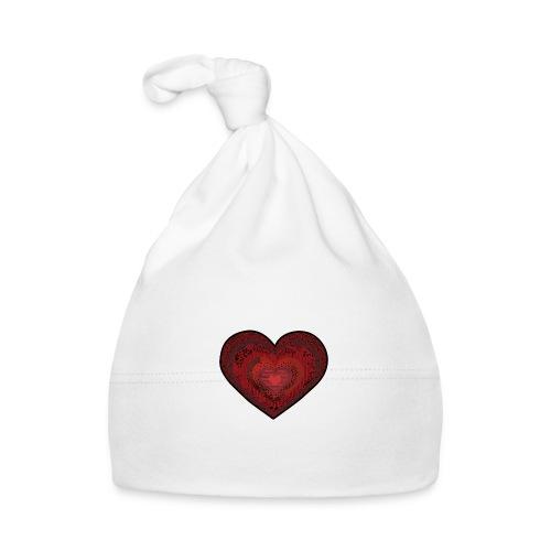 corazón de patrón - Cappellino neonato