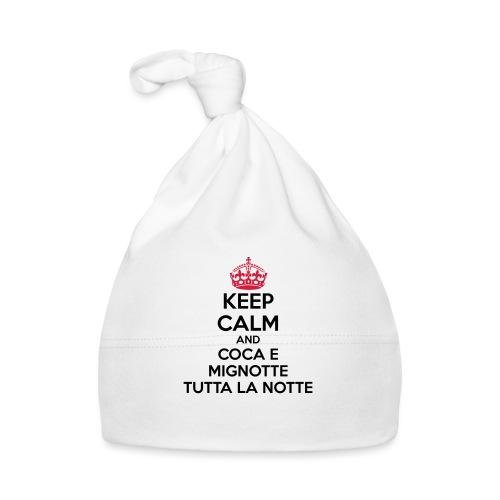 Coca e Mignotte Keep Calm - Cappellino neonato
