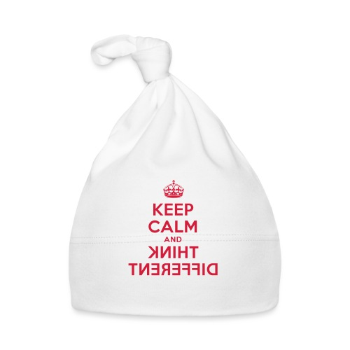 keep calm and think different - Baby Mütze