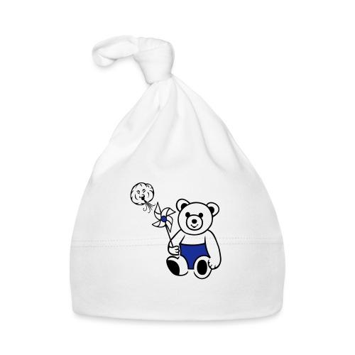 Teddybär mit Windmühle - Baby Mütze