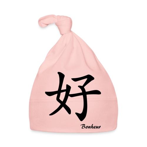 signe chinois bonheur - Bonnet Bébé