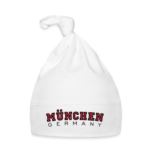 München Germany (Schwarz/Weiß) Deutschland - Baby Mütze