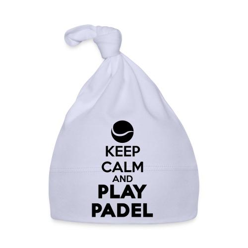 Keep Calm and Play Padel - Gorro bebé