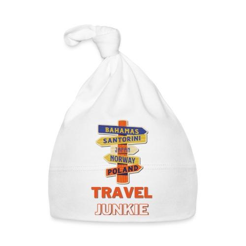 traveljunkie - i like to travel - Baby Mütze