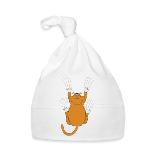 Gatto aggrappato - Cappellino neonato