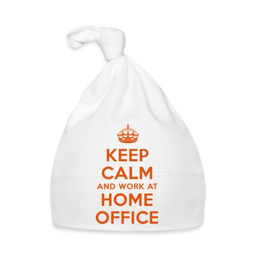 KEEP CALM and work at HOME OFFICE - Baby Mütze