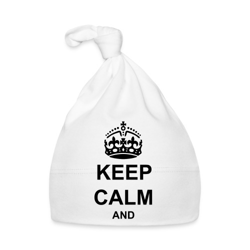 Keep Calm And Your Text Best Price - Baby Cap