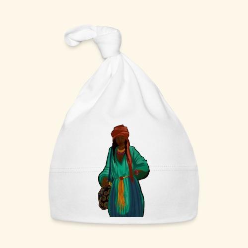 Femme avec sac motif - Bonnet Bébé