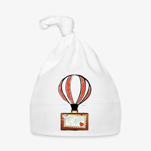 CUORE VIAGGIATORE Gadget per chi ama viaggiare - Cappellino neonato