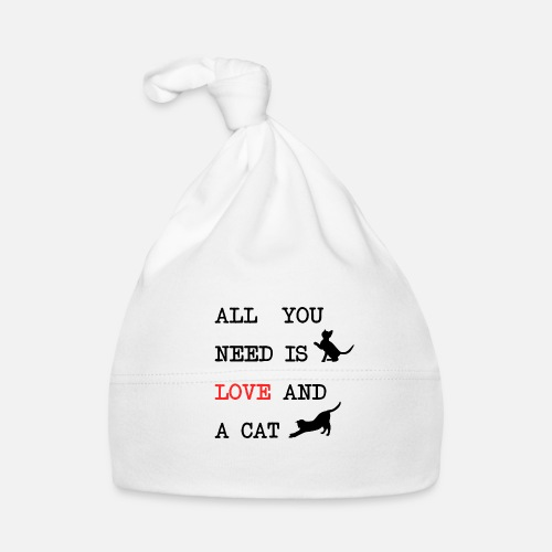 All You Need is Love and a Cat - Muts voor baby's