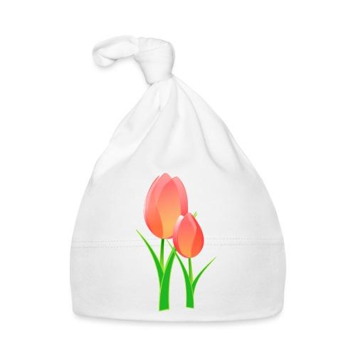 Belle fleur - Bonnet Bébé