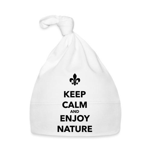 Keep calm an enjoy nature - Farbe frei wählbar - Baby Mütze