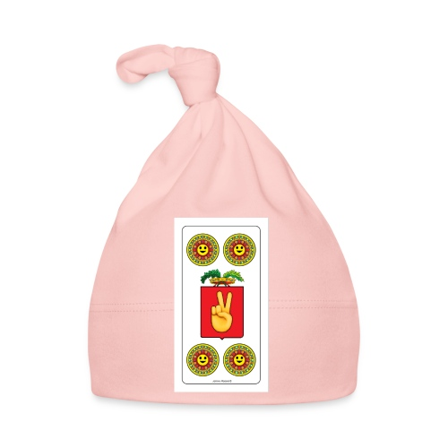 Piacentine Quattro Di Denari Con Smile - Cappellino neonato