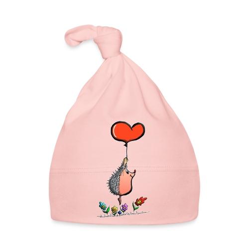 Hérisson avec une ballon pour les amoureux - Bonnet Bébé