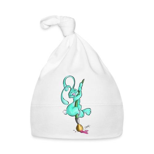 Zeichnerbunny mit Pinsel - Baby Mütze