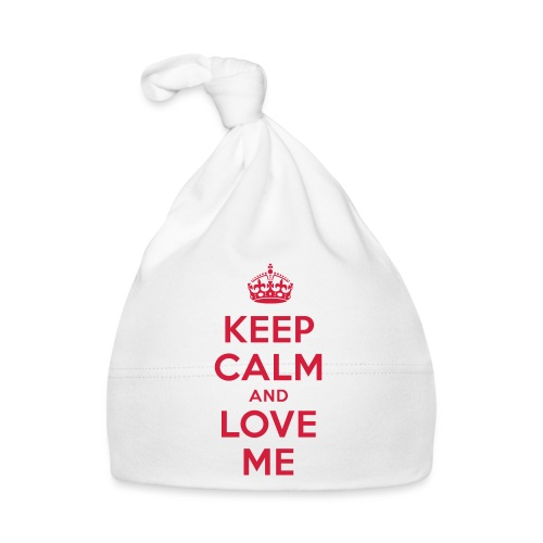 keep calm and love me - Baby Mütze