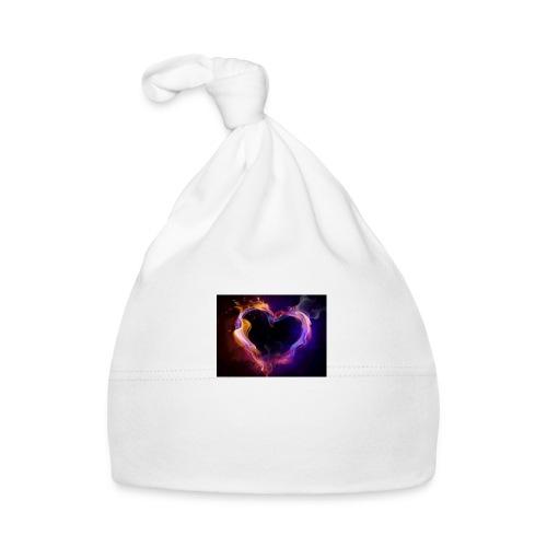 coeur de flamme - Bonnet Bébé
