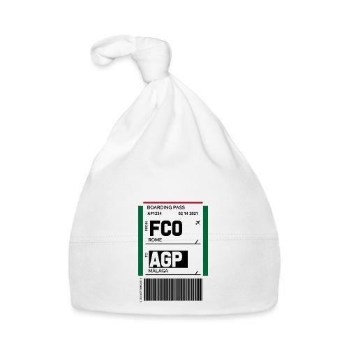 Boarding pass FCO to AGP - Gorro bebé