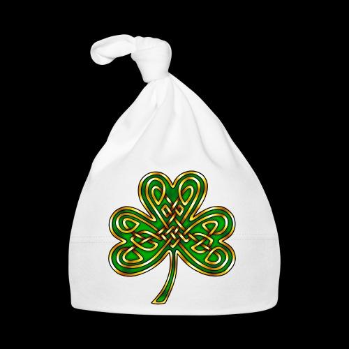 Celtic Knotwork Shamrock - Baby Cap
