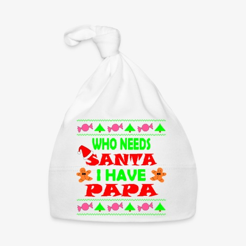 I have papa Ugly Christmas Sweater - Baby Mütze