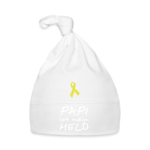 Gelbe Schleife Solidarität - Baby Mütze