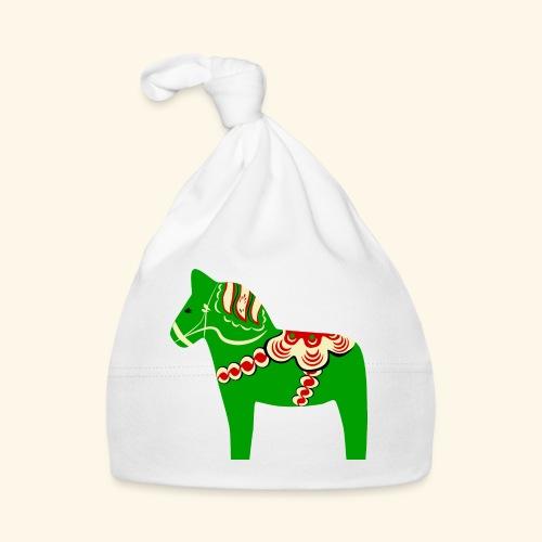 Grön dalahäst - Babymössa