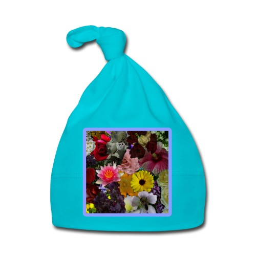 in BLUMEN GESTYLT = FLOWERS COLOR for EVERYBODY - Baby Mütze
