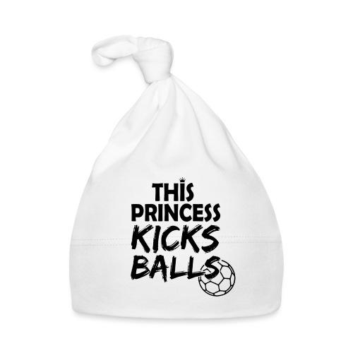 This princess kicks balls - Frauenfußball - Baby Mütze