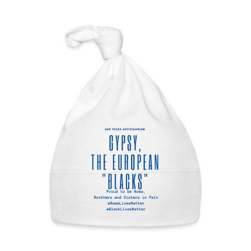 Gypsy, the European Blacks - Blue Letters - Baby Mütze