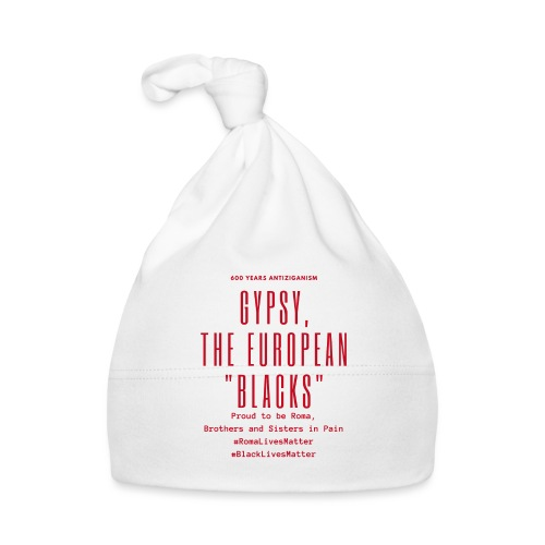 Gypsy, the European Blacks - Red Letters - Baby Cap