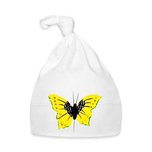 papillon transparent vjr, rastafari - Bonnet Bébé