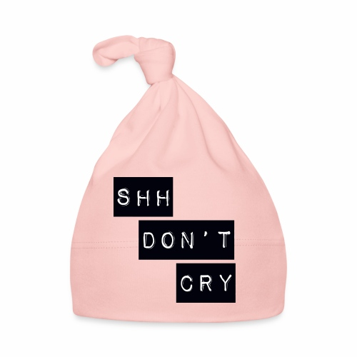 Shh dont cry - Baby Cap