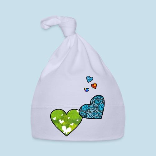 Herzchen - Baby Mütze