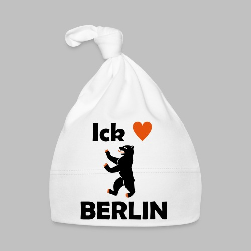 Ick liebe ❤ Berlin - Baby Mütze