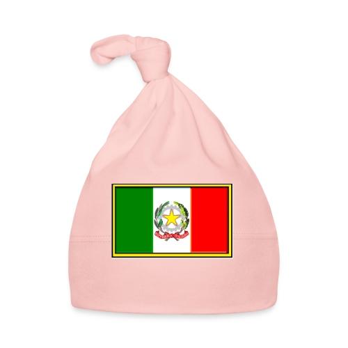 Bandiera Italiana - Cappellino neonato
