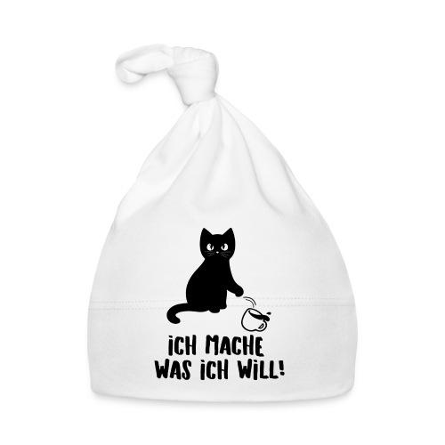 Katze Ich mach was ich will Egoist freches Kitten - Baby Mütze