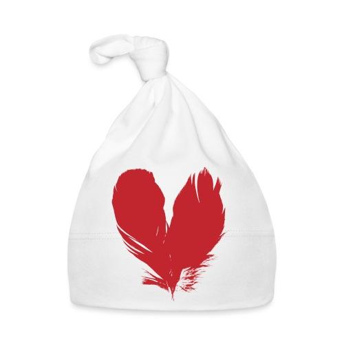 plumes de cœur - Bonnet Bébé