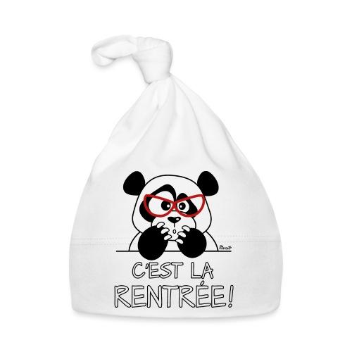Panda C'est la Rentrée! - Bonnet Bébé