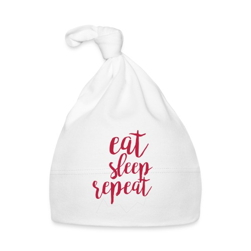 eat sleep repeat - Gorro bebé